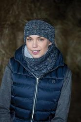 EQUETECH Blended cable knit headband
