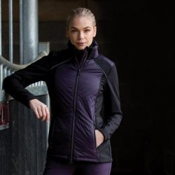 EQUETECH Apollo quilted soft-shell jacket